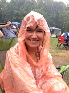 Me at Wild Goose Festival getting soaked.
